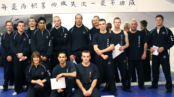 Wing Chun Training Potters Bar Students Pass their grading to move to Advanced Classes